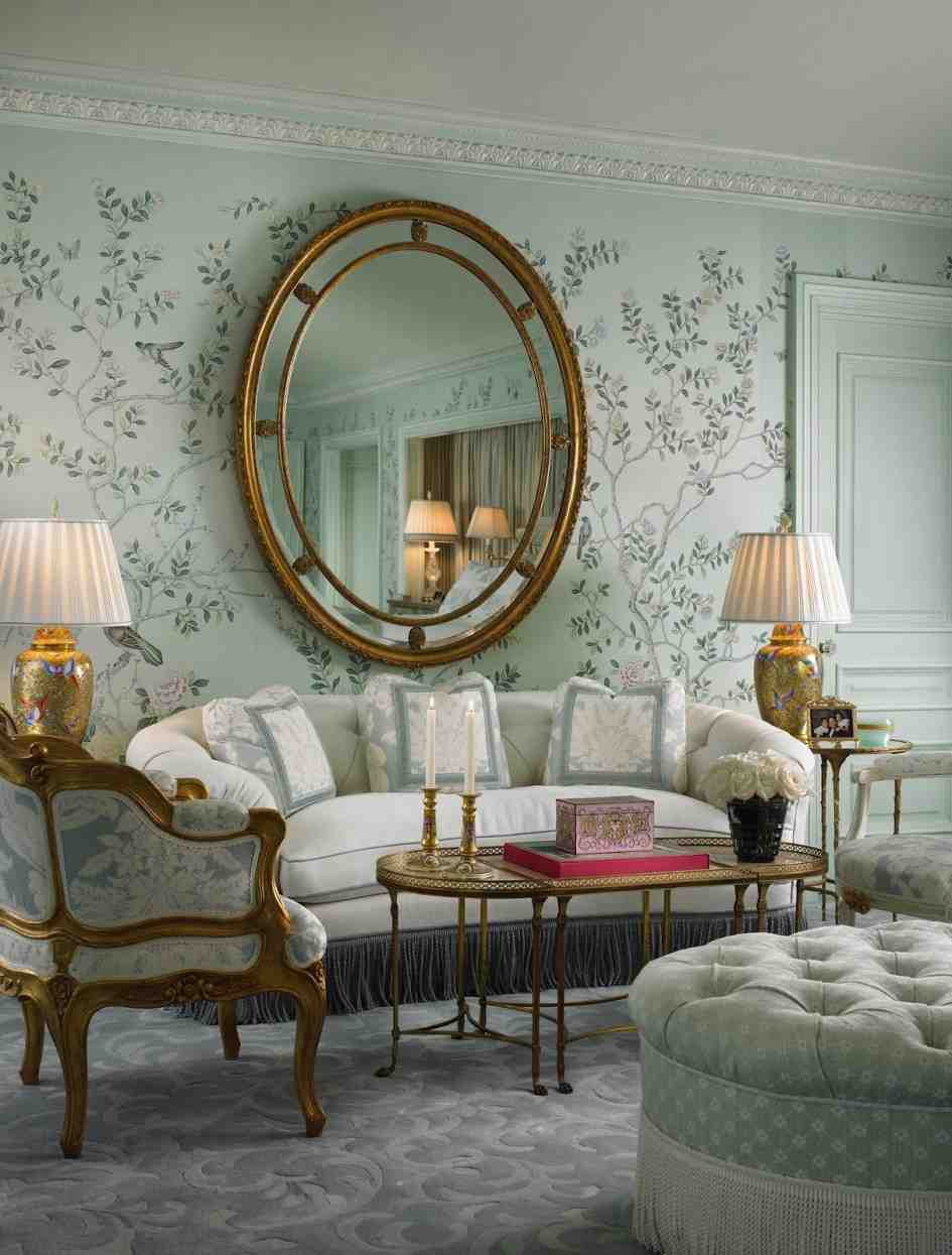 Mirror wall decoration ideas living room decor for Sitting room decor ideas