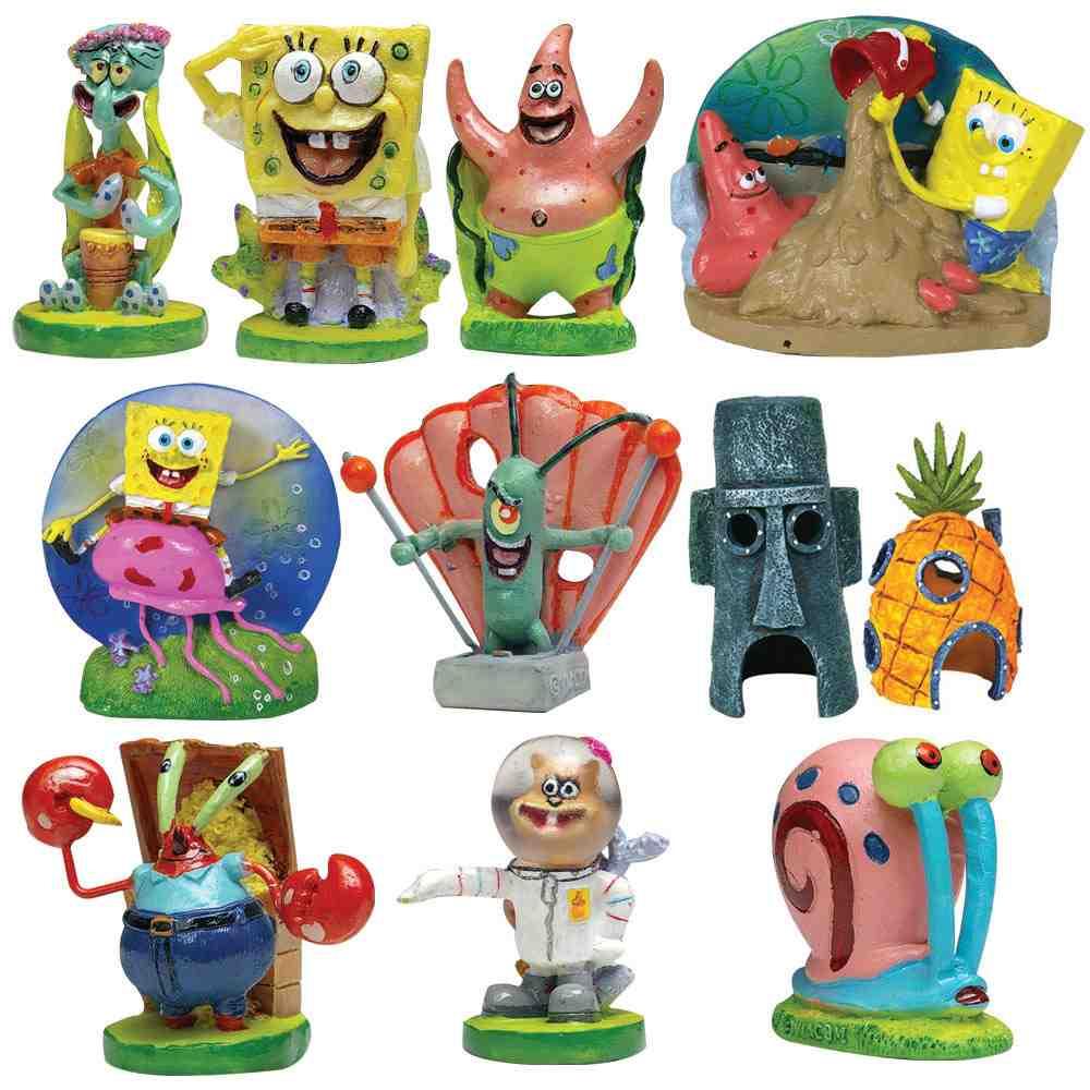 Spongebob aquarium decorating kit decor ideasdecor ideas for Aquarium decoration kits