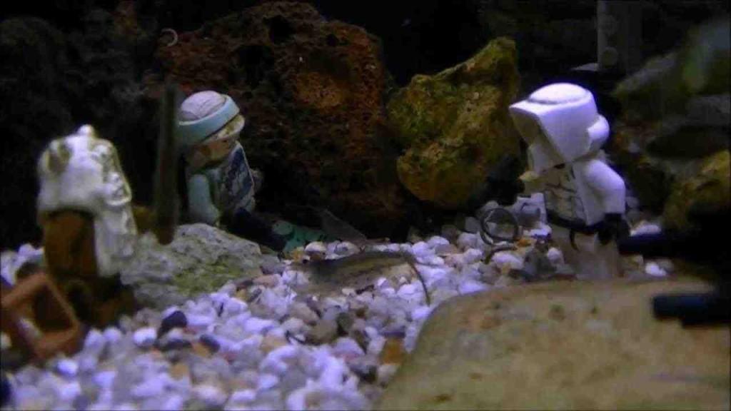 Star wars aquarium decorations decor ideasdecor ideas for Star wars fish tank decorations