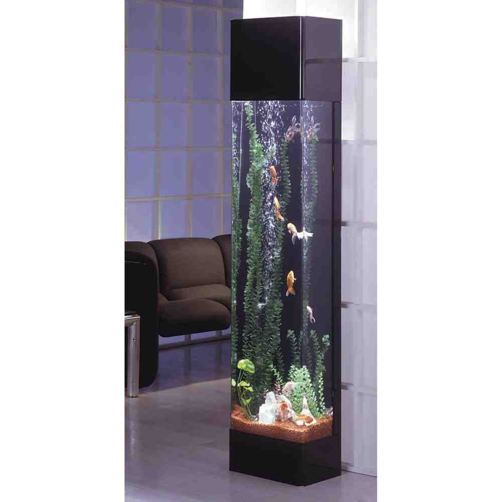 Tall aquarium decorations decor ideasdecor ideas for Tall fish tank decorations