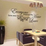 Wall Decal Quotes for Living Room