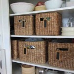 Large Storage Baskets for Shelves