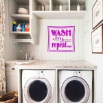 Laundry Room Decorating Accessories