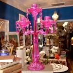 Pink Candelabra