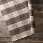 Plaid Area Rug