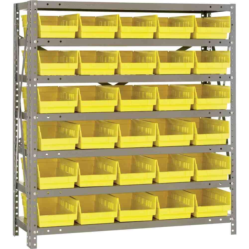 Storage Bin Shelving System