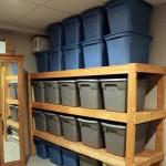 Storage Shed Shelving Ideas