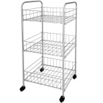 Storage Shelves on Wheels