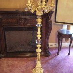 Tall Floor Candelabra