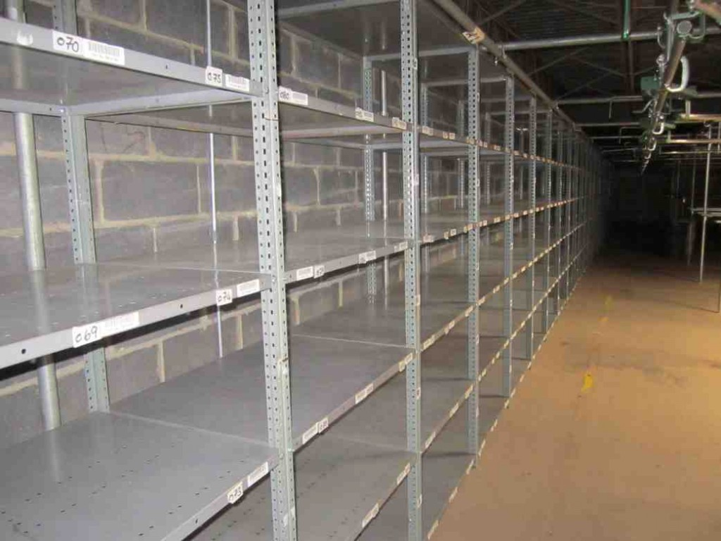 Used Storage Shelves