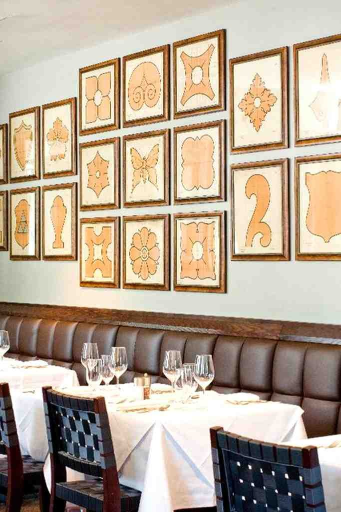 Wall decor for dining room decor ideasdecor ideas for Large dining room wall