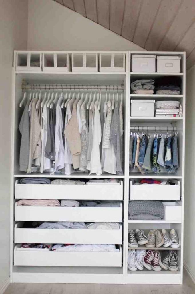 White Closet Shelves