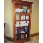 Glass Shelves Bookcase