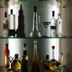 Glass Shelves for Bar