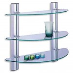Glass Shelves for Bathroom