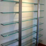 Metal and Glass Shelves