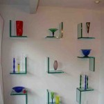 Modern Glass Shelves