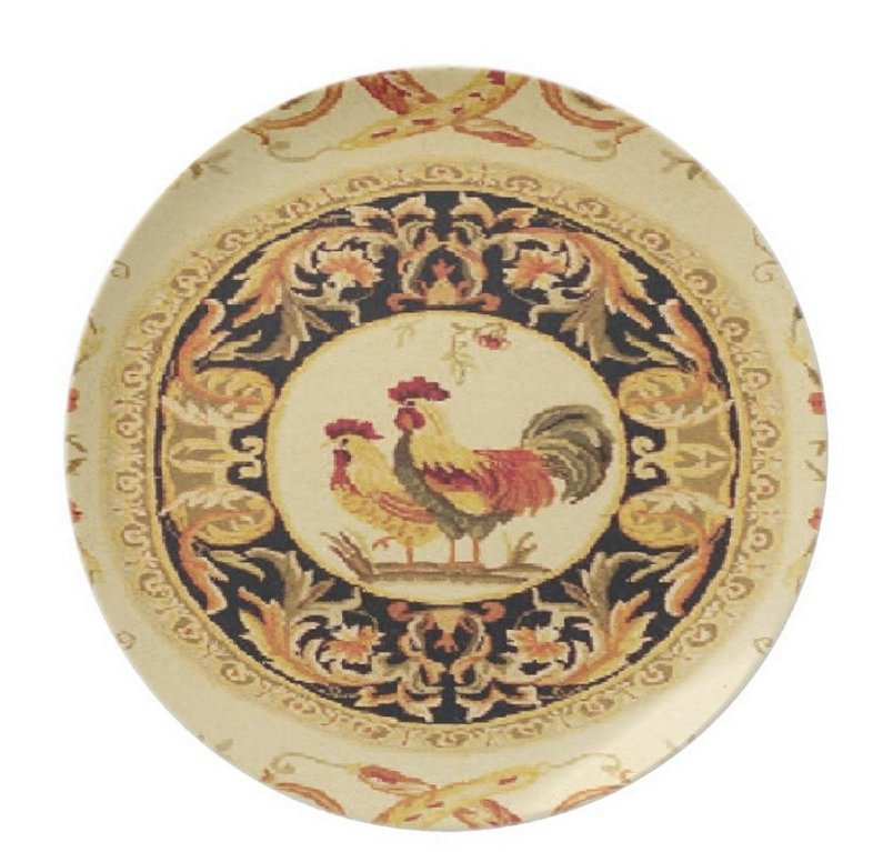French Country Decorative Plates