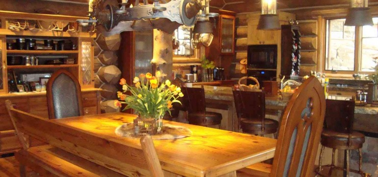 Log Cabin Decor