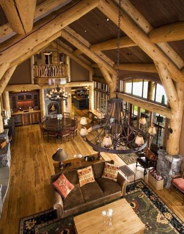 Rustic Log Cabin Decorating Ideas