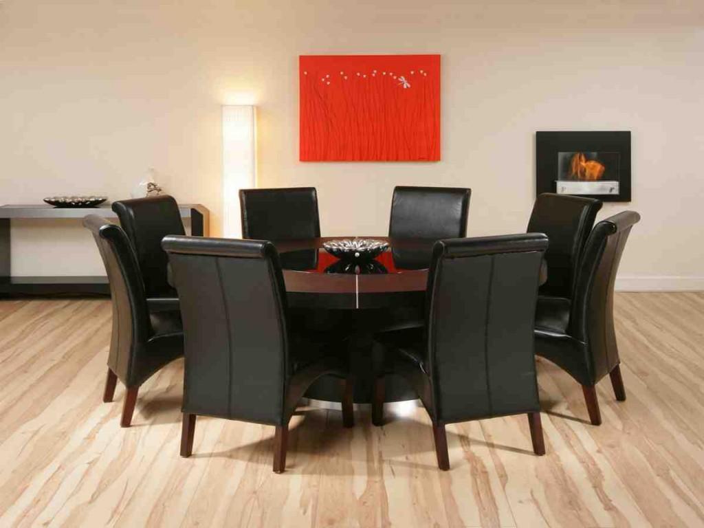 Black Dining Room Table Set