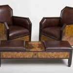 Club Chair With Ottoman