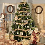 Country Christmas Tree Decorations