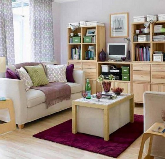 How To Decorate A Small Living Room Space