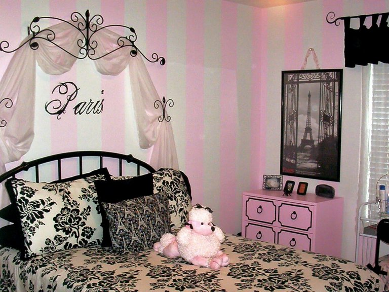 Paris Room Decor For Girls