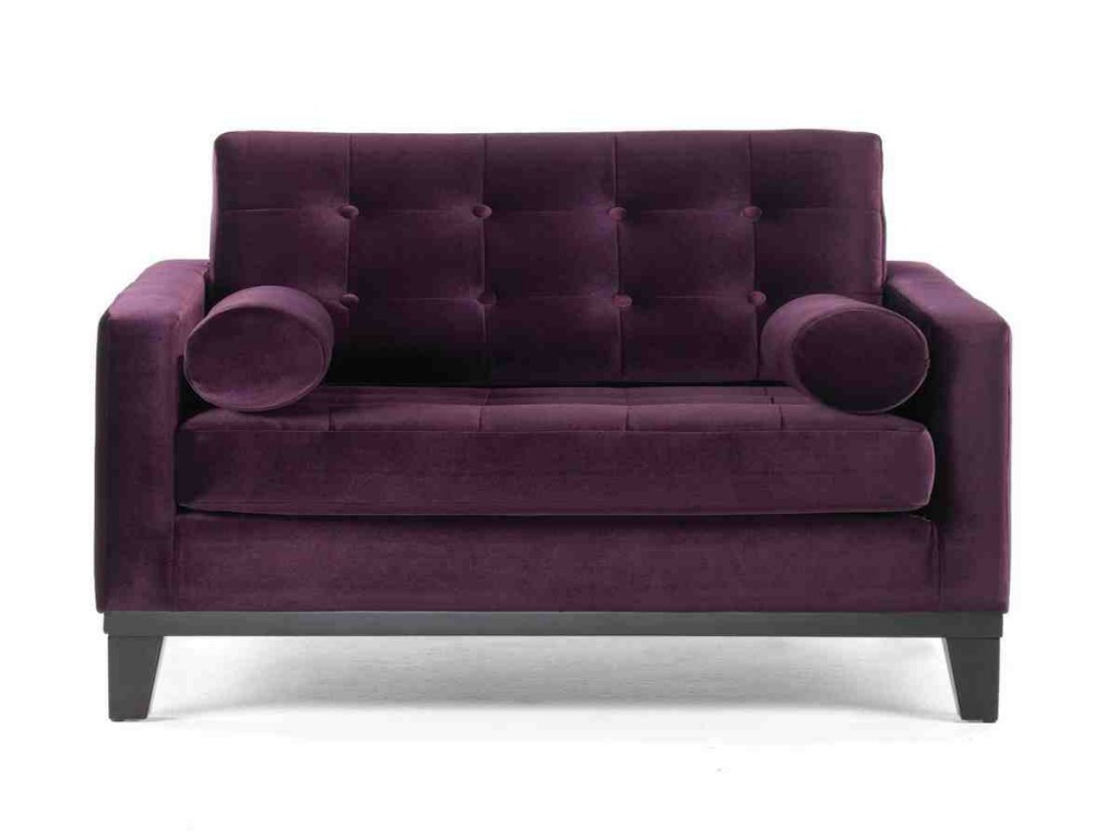 Purple Club Chair