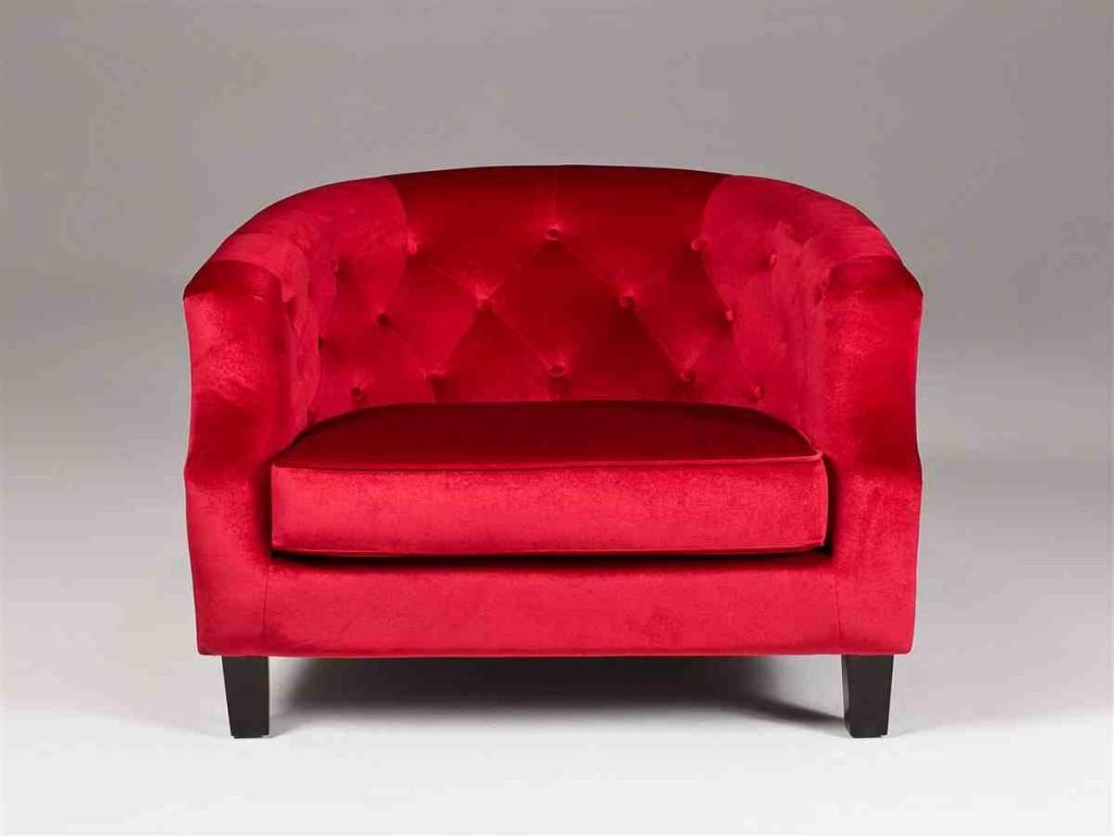 Red Club Chair