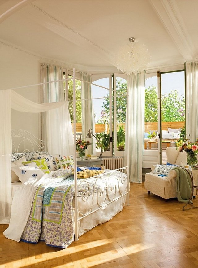 Romantic country decorating ideas decor ideasdecor ideas for Idee deco chambre adulte romantique