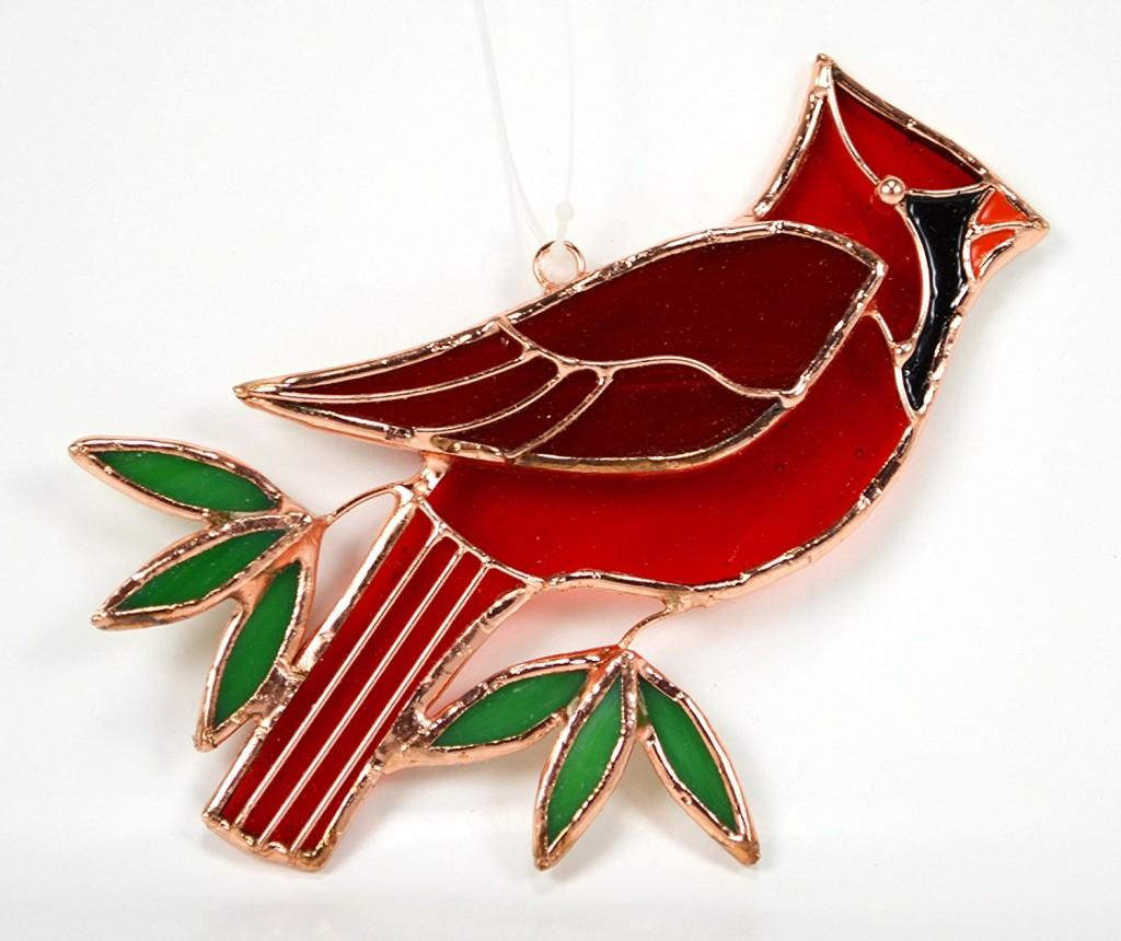 Cardinal Suncatcher