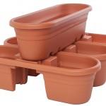 Deck Rail Planter Box