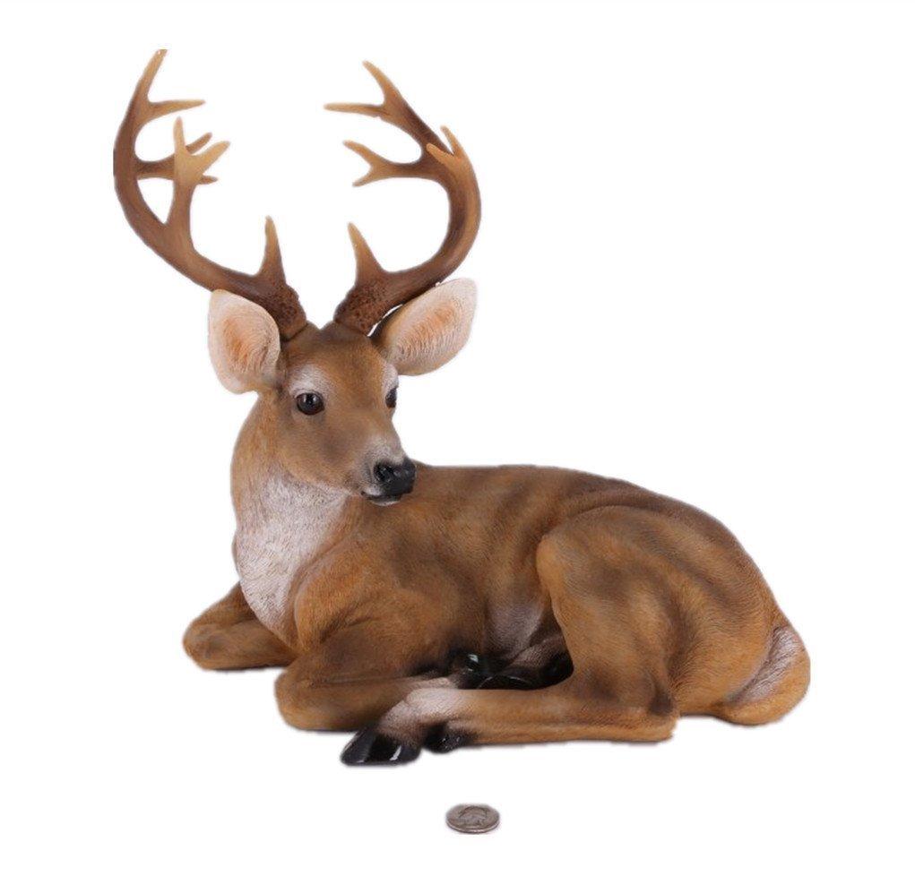Deer Statues Outdoor Decor