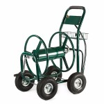 Four Wheel Hose Reel Cart