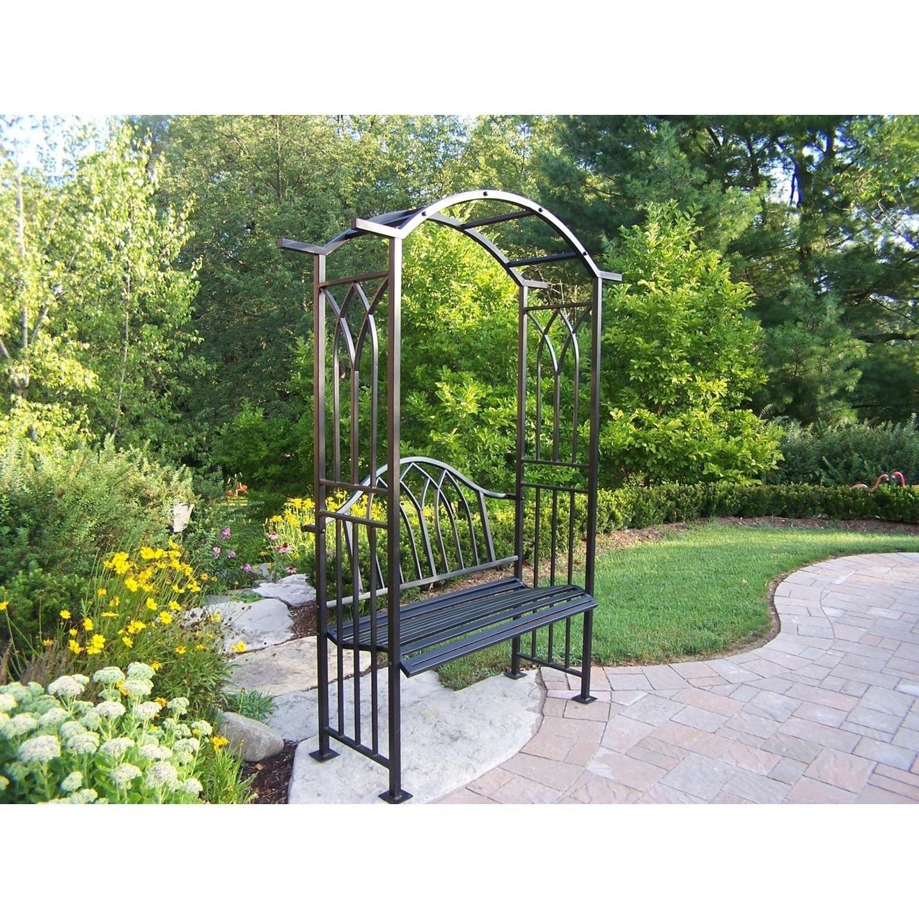 Garden Bench With Arbor Decor Ideasdecor Ideas