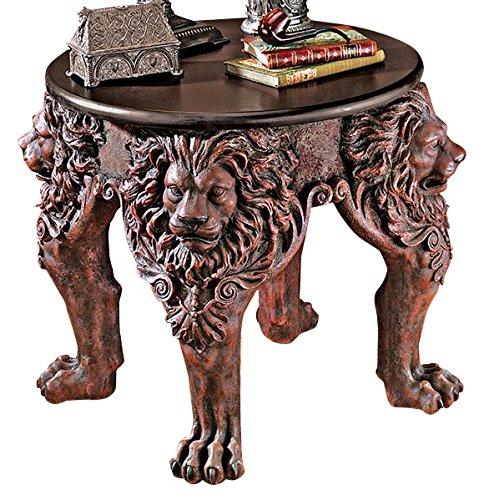 Lion Leg End Table