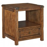 Square End Table Tamonie Medium