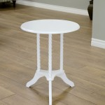 Antique Round End Table