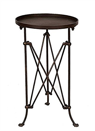 Bronze End Table