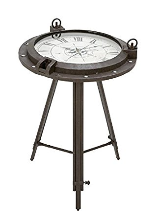 Clock End Table