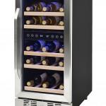 Compressor Wine Cooler Dual Zone