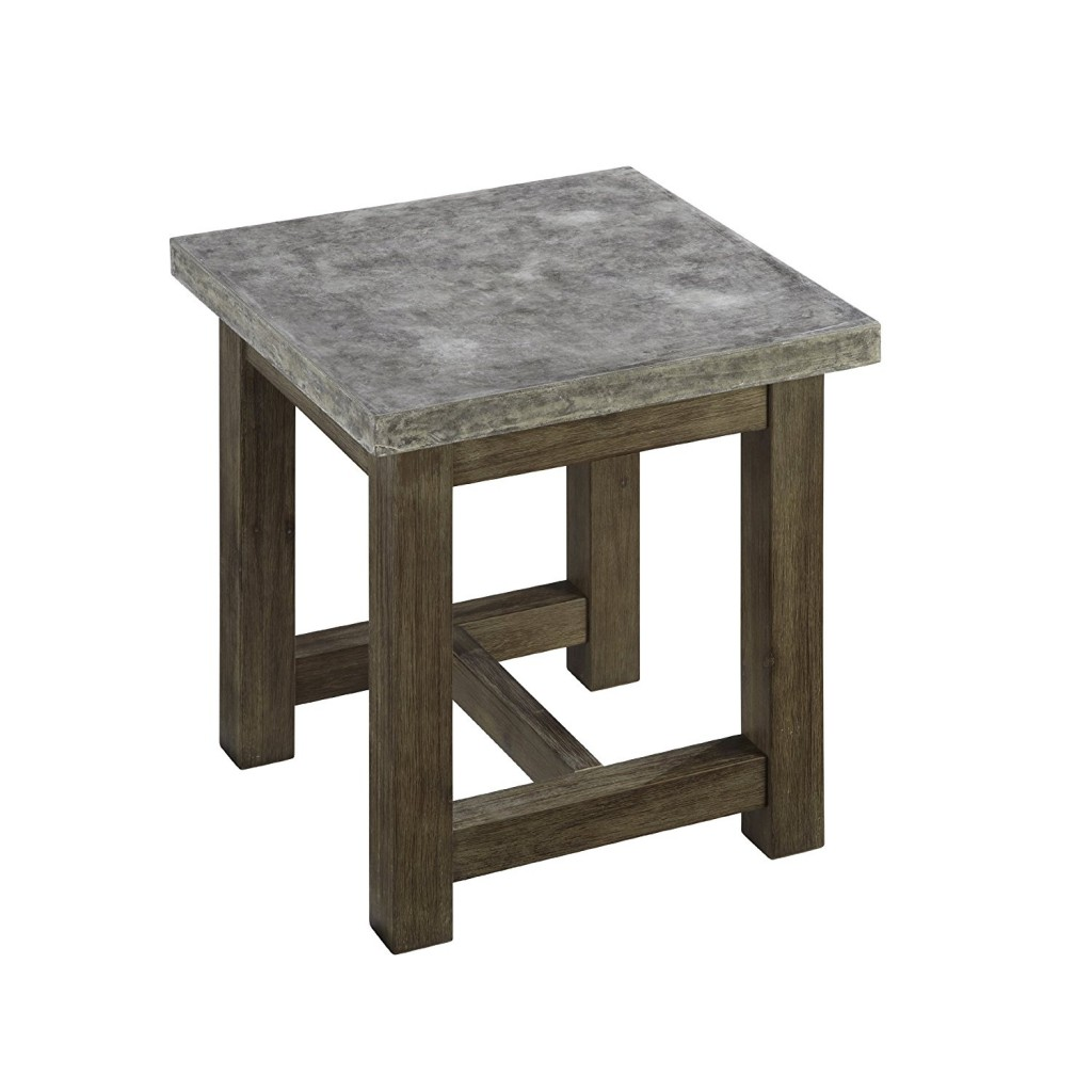 Concrete End Table