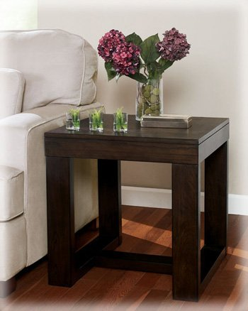 Dark Brown End Tables