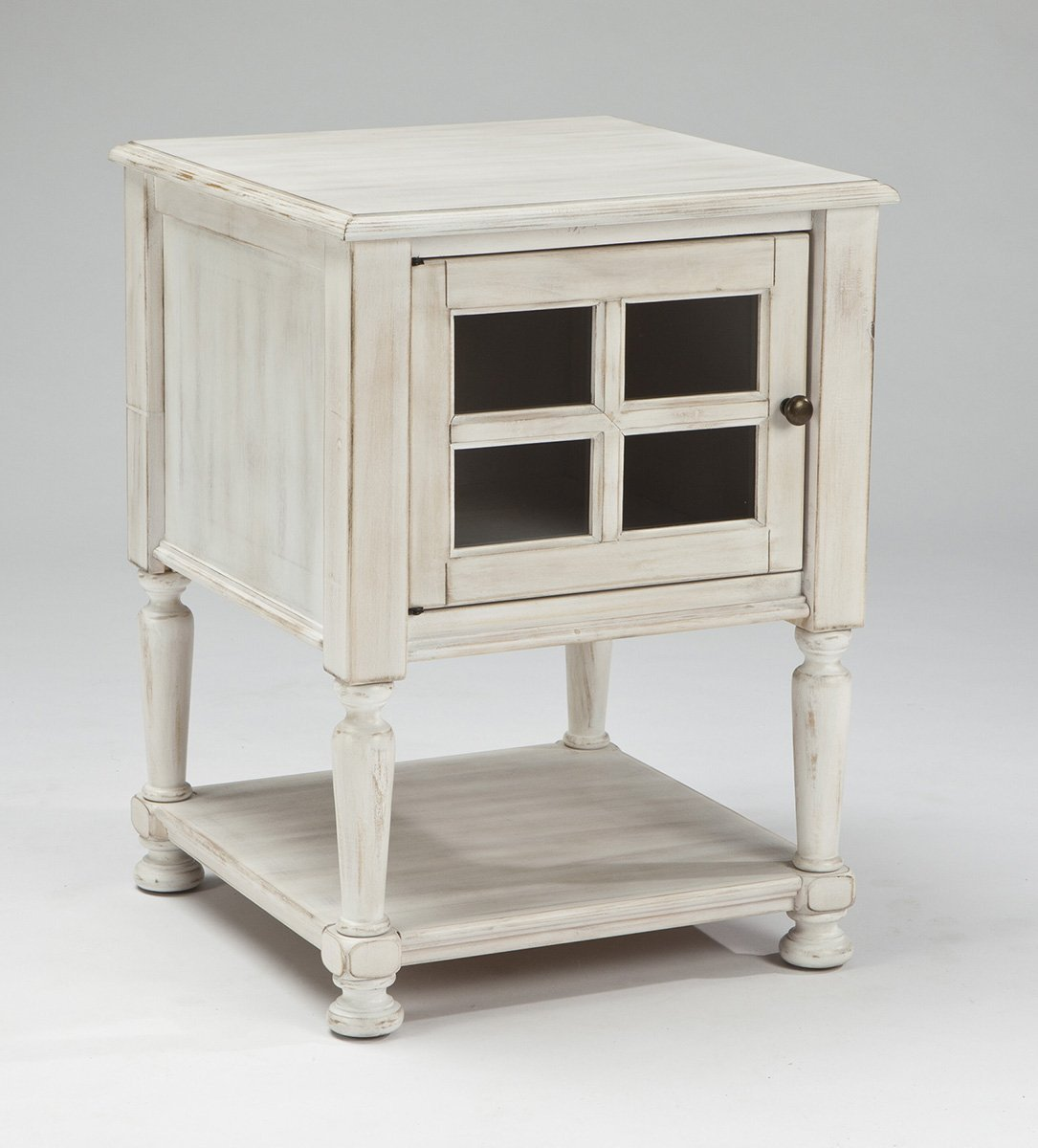Distressed White End Tables Decor Ideasdecor Ideas