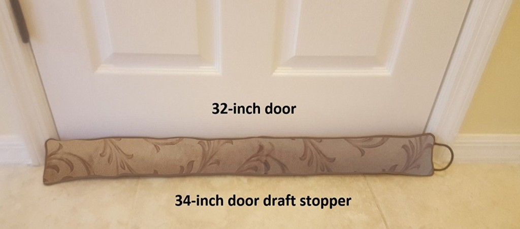 Door Sock Draft Stopper