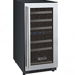 Dual Zone Wine Cooler Under Counter