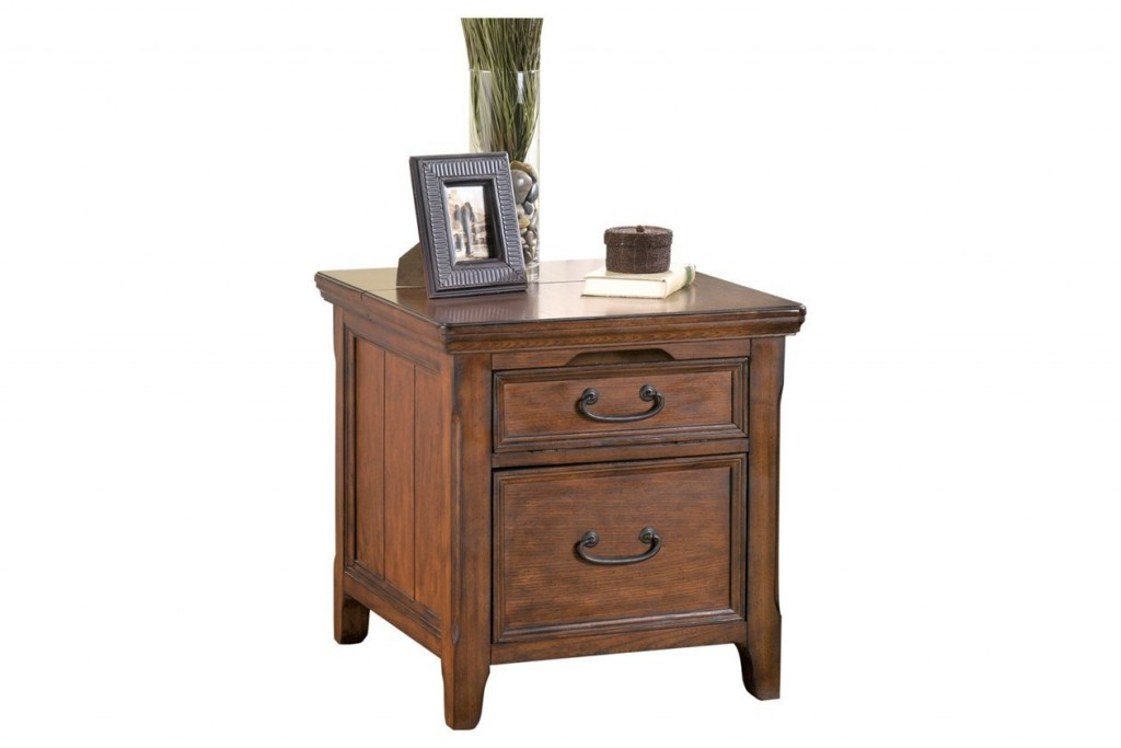 End Table File Cabinet