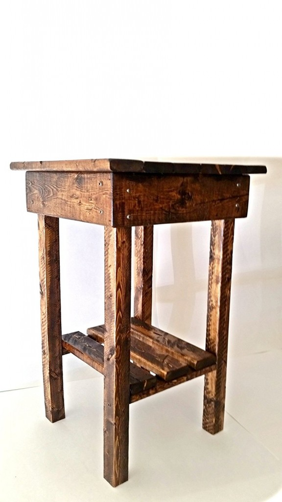 End Tables Made From Pallets